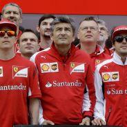 Imagen de archivo de Ferrari de la temporada 2014 - LaF1