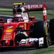 Kimi Raikkonen durante la carrera en Monza - LaF1