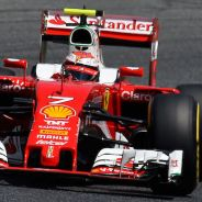 Kimi Raikkonen en Barcelona - LaF1