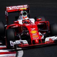 Kimi Raikkonen en Hungría - LaF1