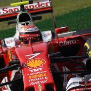 Kimi Raikkonen durante los entrenamientos libres en Monza - LaF1