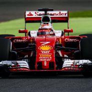 Kimi Raikkonen durante los test en Silverstone - LaF1
