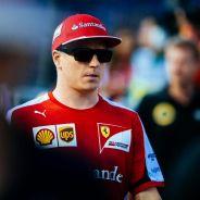 Kimi Räikkönen durante el 'Driver's Parade' de Singapur - LaF1