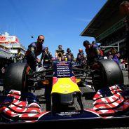 El alerón delantero del Red Bull de Kvyat - LaF1