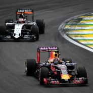 Force India acertó en la estrategia y Kvyat no pudo mantener detrás a Hülkenberg - LaF1