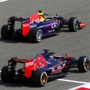 Daniil Kvyat y Max Verstappen en Baréin - LaF1