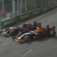 Kvyat y Verstappen nos regalaron uno de los mejores momentos de la carrera - LaF1