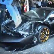 Lamborghini Murciélago destrozado - SoyMotor.com