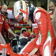 Charles Leclerc en Silverstone - LaF1