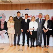 La familia de María de Villota al término de la rueda de prensa - LaF1
