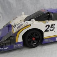 El nivel de detalle de este Jaguar XJR-9 de LEGO es impresionante - SoyMotor