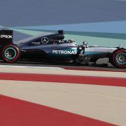 Lewis Hamilton en Baréin - LaF1