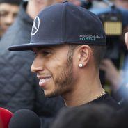 Lewis Hamilton durante los test con Mercedes - LaF1.es
