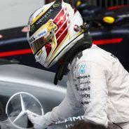Lewis Hamilton celebra su victoria en Hockenheim - LaF1