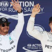Hamilton crítica la actuación de Rosberg en clasificación - LaF1
