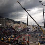 Este intimidante aspecto tenía el cielo de Mónaco - LaF1