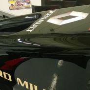 Detalle del Lotus E22 - LaF1