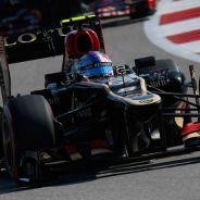 Romain Grosjean en Austin, seguido por Mark Webber - LaF1