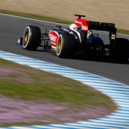 Romain Grosjean en los test de Jerez de 2013 - LaF1
