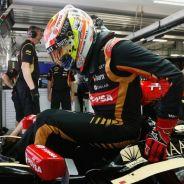 Pastor Maldonado en su E23 - LaF1