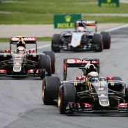 Grosjean y Maldonado en el GIlles Villeneuve - LaF1.es