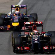 Maldonado con el Lotus y Ricciardo con el Red Bull en el GP de Canadá - LaF1