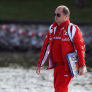 Luca Colajanni en 2011, cuando era jefe de prensa de Ferrari - LaF1