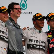 Podio del Gran Premio de Malasia - LaF1
