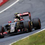 Pastor Maldonado con el Lotus durante la carrera del GP de Austria - LaF1