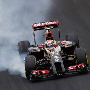 Pastor Maldonado en el Gran Premio de Brasil - LaF1