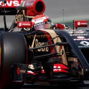 Pastor Maldonado en el Circuit de Catalunya - LaF1