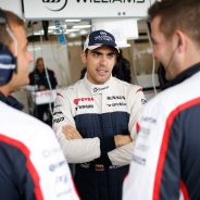 Pastor Maldonado en el box de Williams - LaF1