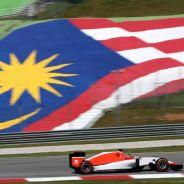 El Manor de Stevens rodando en Malasia - LaF1.es