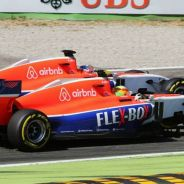 Roberto Merhi y Will Stevens en Monza - LaF1
