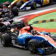 Pascal Wehrlein en el momento de la salida - LaF1