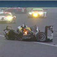 Porsche de Mark Webber tras el accidente - LaF1