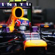 Mark Webber con el Red Bull RB9 en el GP de Italia - LaF1