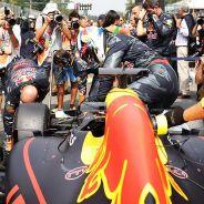 Daniel Ricciardo en la parrilla de Monza - LaF1