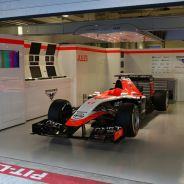 Marussia montó el coche de Bianchi en Sochi para rendirle un homenaje - LaF1