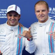 Williams saca músculo en casa de Red Bull: Pole de Massa y Bottas, 2º