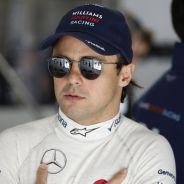 Felipe Massa en el box de Williams - LaF1