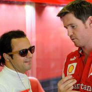 Rob Smedley conversa con Felipe Massa en su periodo en Ferrari - LaF1