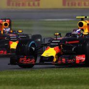 Max Verstappen y Daniel Ricciardo en Silverstone - LaF1