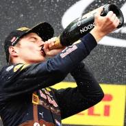Verstappen consiguió el segundo podio de su trayectoria en la F1 - LaF1
