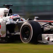 Jenson Button en la India - LaF1