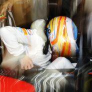 Fernando Alonso en Abu Dabi 2015 - LaF1