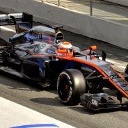 Jenson Button, hoy en Montmeló - LaF1