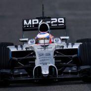 El MP4-29 de McLaren rodando en Jerez - LaF1