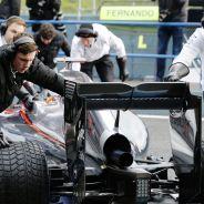 El MP4-30 de McLaren-Honda en Jerez - LaF1.es