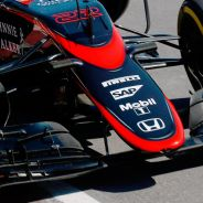 Detalle del McLaren MP4-30 de Jenson Button en Canadá - LaF1